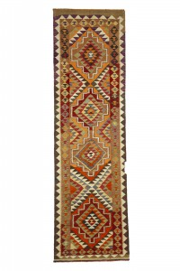 Turkish Rug Runner Wool Rug Runner 3x11 Feet 96,327